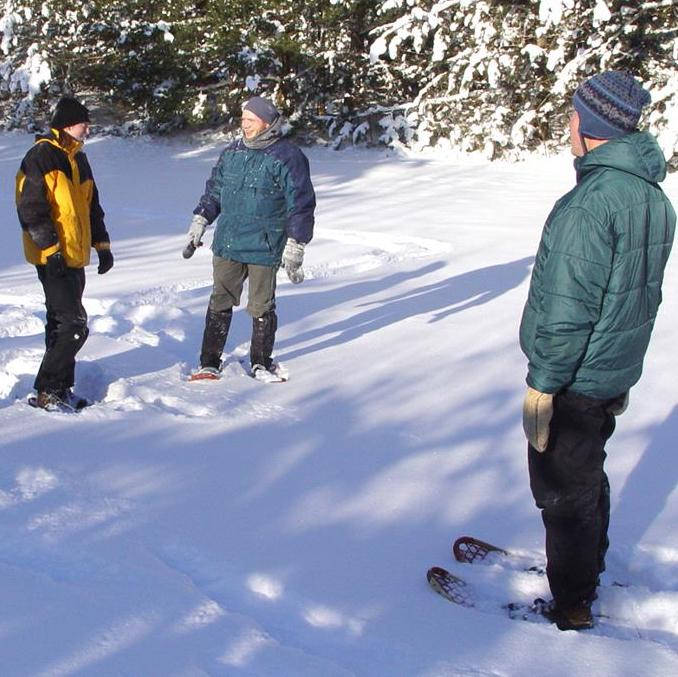 Weekend Guided Snowshoe Hikes