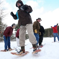 Try Snowshoeing